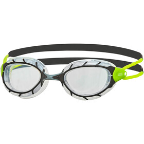 Zoggs Predator Laskettelulasit, black/lime/clear